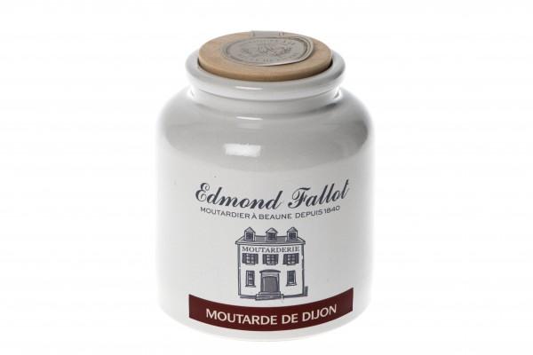 Dijon Senf glatt im Steintopf