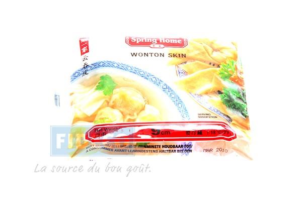 Wantan Teigblätter 9 cm