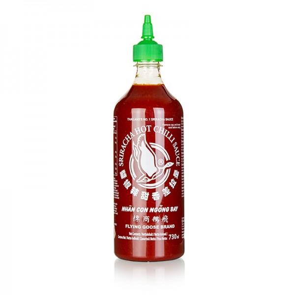 Chilisauce Sriracha (sehr scharf)
