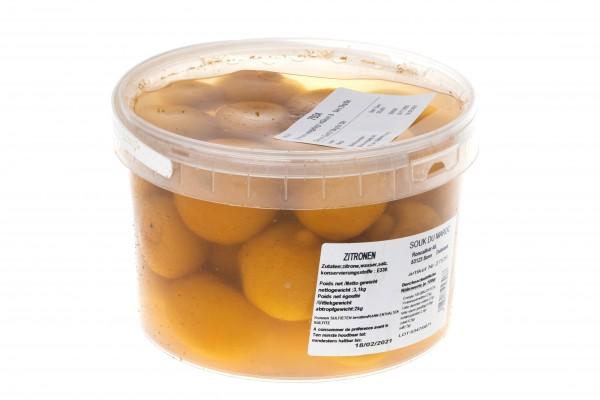 Zitrone eingelegt in Säure&Salz