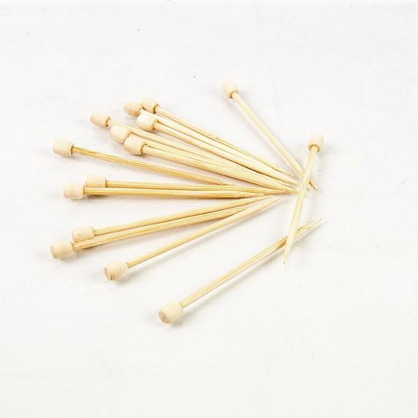 Bambus-Spiesse Drum 7cm