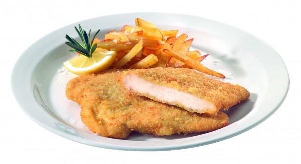 Pouletschnitzel Premium paniert