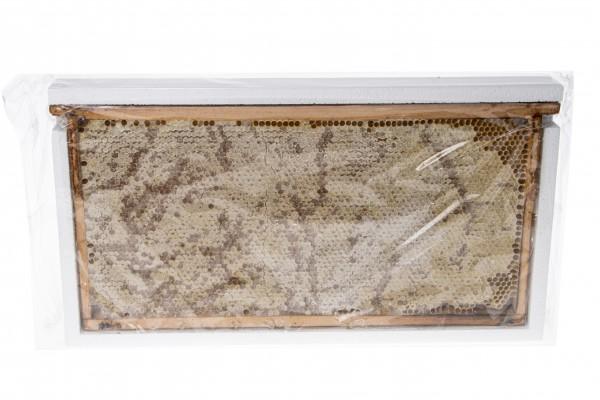 Bienenhonig in Wabe