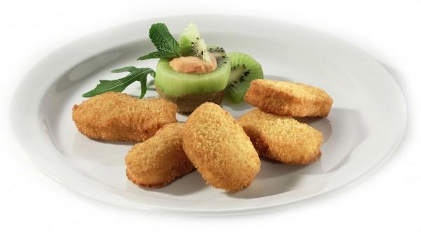 """Chicken Nuggets geformt """"Swis Line"""""""