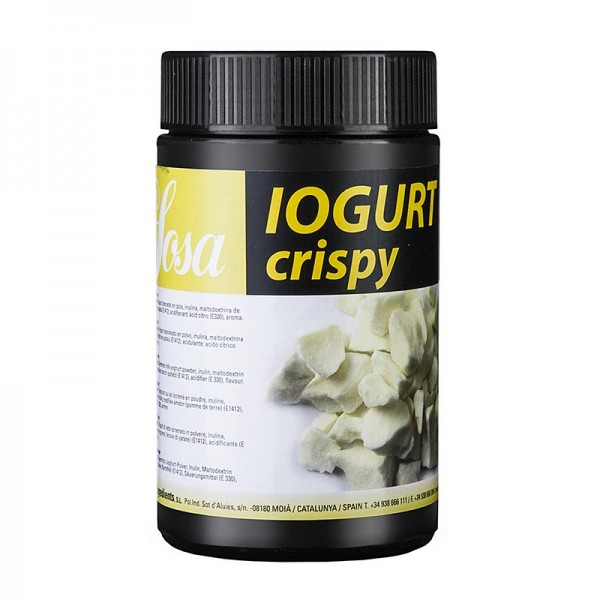 "Joghurt Crispy gefriergetrocknet ""Sosa """
