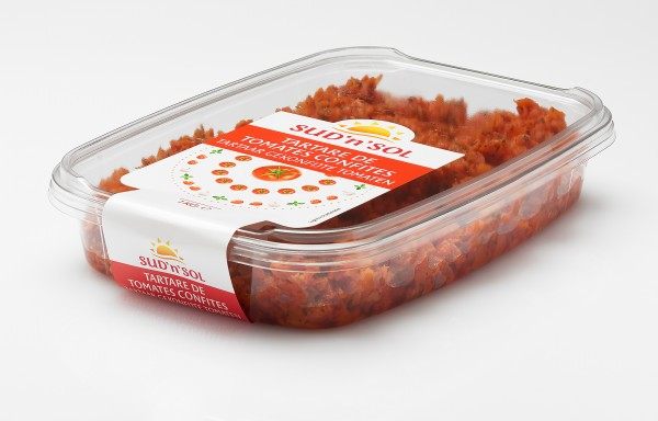 """Tomaten Tatar confit """"Sud """"n """"Sol """""""