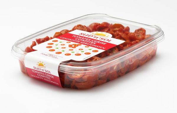 "Cherry-Tomaten halbiert confit ""Sud ""n ""Sol """